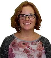 Gemma Solsona - Psicòloga i responsable de la delegació de Girona.