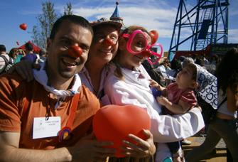 Voluntaris AACIC a la Festa del Cor 2014