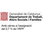 Generalitat de Catalunya. Departament Afers Socials i Famílies. IRPF