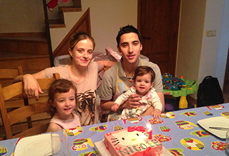 Nuria i familia