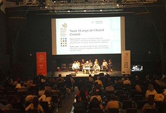 jornada 10 anys Acord Ciutadà per una Barcelona més inclusiva