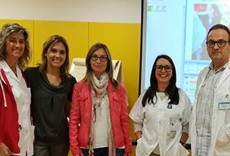 videoconferència Servei de Pediatria dels CAP's Lleida