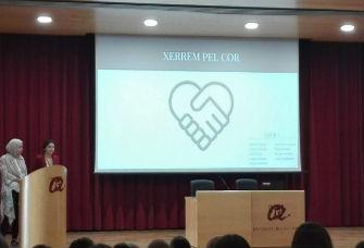 Alumnes del Grau de Treball Social de la URV presenten un treball de sensibilització vers les cardiopaties congènites
