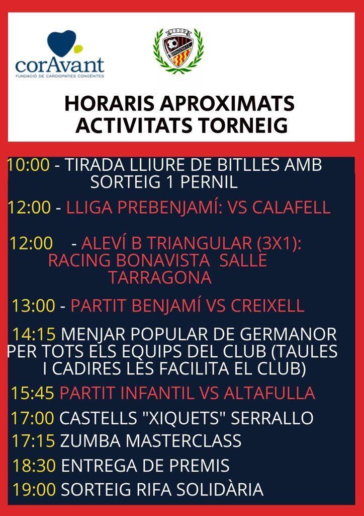 Programa Torneig Tarragona Futbol Club