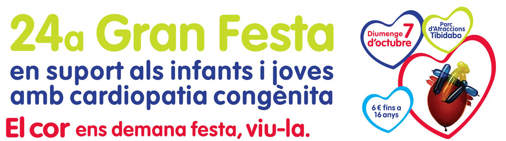 24 Gran Festa del Cor al Parc d'Atraccions Tibidabo