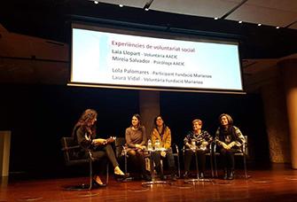 Celebració del Dia Internacional del Voluntariat a Barcelona
