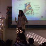 Charla sobre cardiopatías congénitas en la Escola Maria Garcia Cabanes de l'Aldea