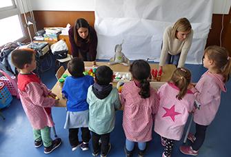 Tallers d'activitat física i alimentació saludable a l'Escola Maria Garcia i Cabanes de l'Aldea