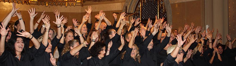 Free Choir en concert