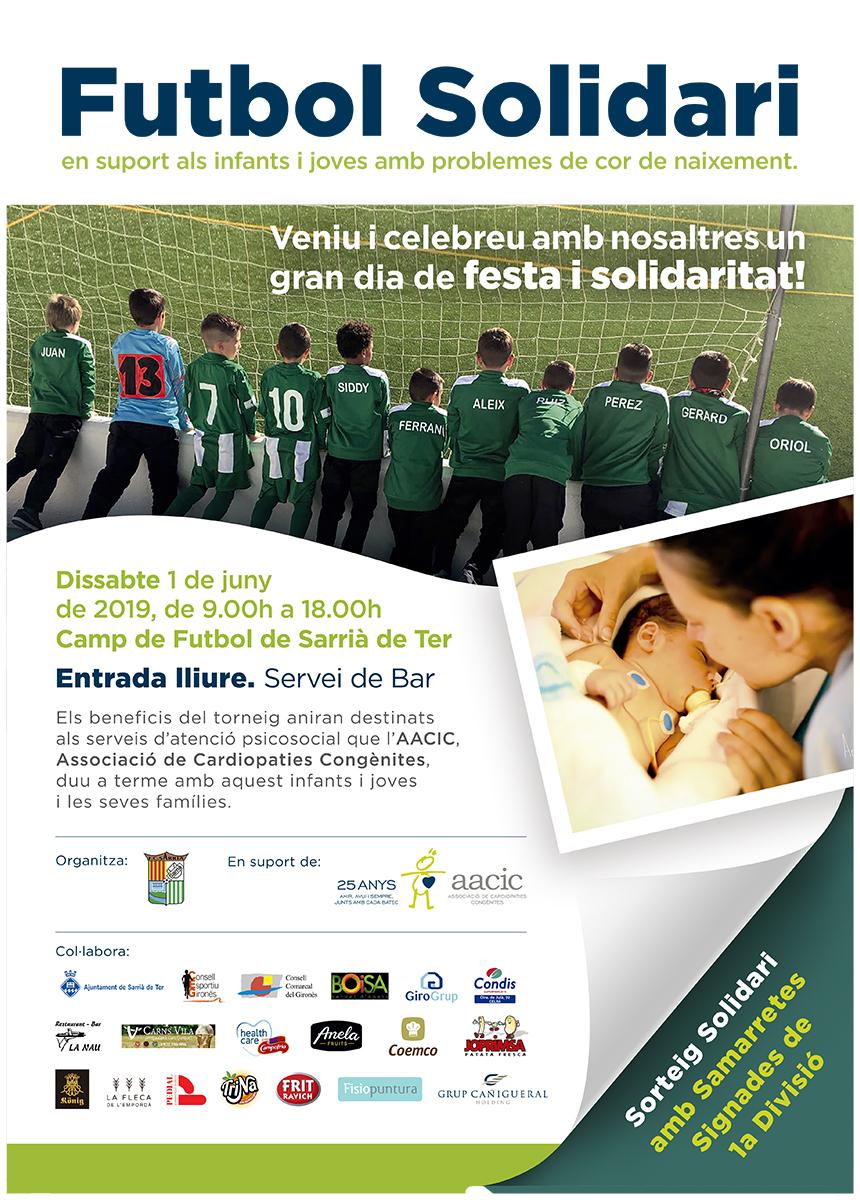 Futbol solidari Sarrià de Ter