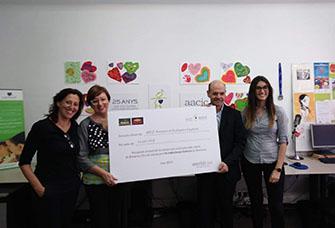 AACIC rep donacions Bonpreu i Worldcoo