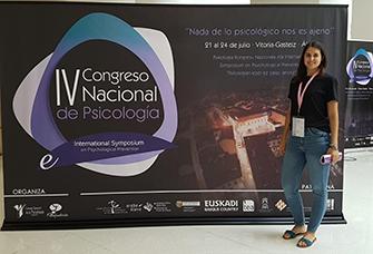 IV Congreso Nacional de Psicología a Vitòria-Gasteiz