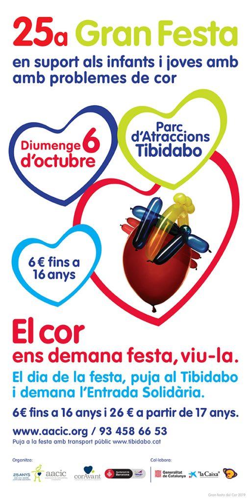 Cartel 25 Gran Fiesta del Corazón 2019