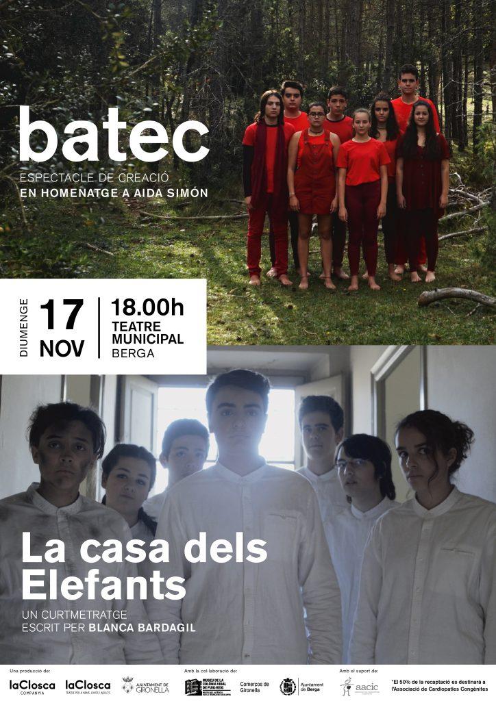 BATEC + LA CASA DELS ELEFANTS EN BERGA