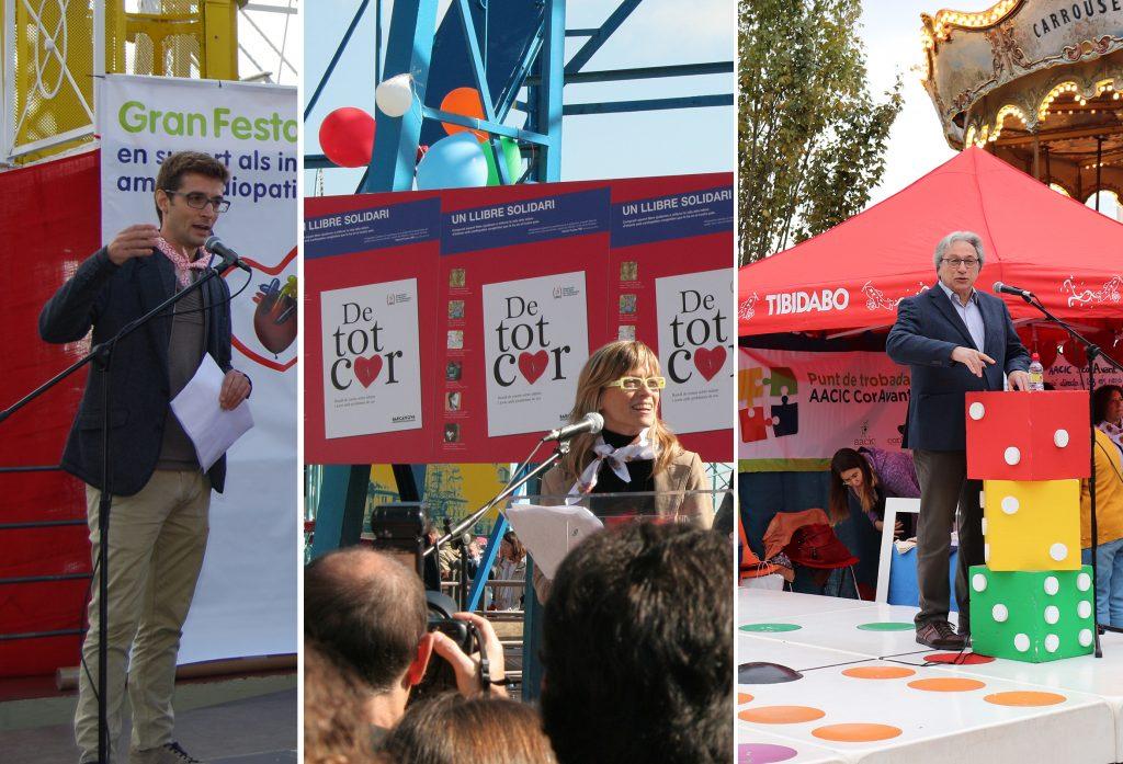 Carles Prats, Jaume Comas y Mone Teruel presentaran la 25ª Gran Fiesta del Corazón