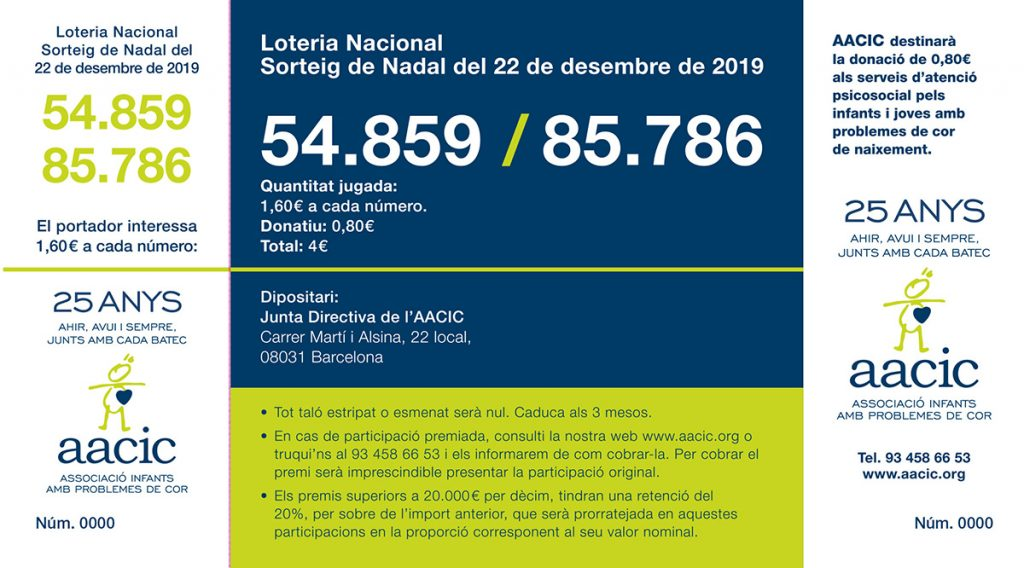 LOTERIA 2019 AACIC