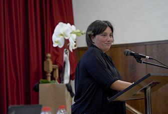 Presentació repte solidari Quilòmetres x Somriures de Nuri Teixidor