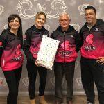 AACIC recibe 1.500 euros de las caminatas solidarias organizadas por Cromatic Sport