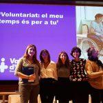 Acto de reconocimiento al voluntariado, entidades y asociaciones que colaboran con el Hospital Vall d'Hebron