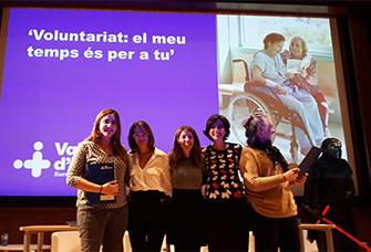 Acte de reconeixement al voluntariat, entitats i associacions que col·laboren amb l'Hospital Vall d'Hebron