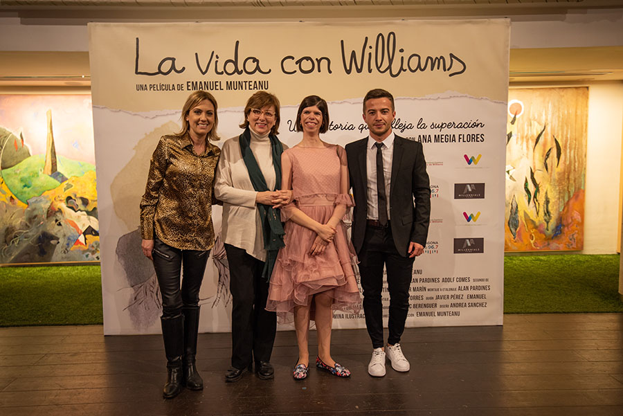 Preestrena del documental La vida con Williams