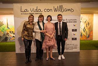 Preestrena del documental La vida con Williams