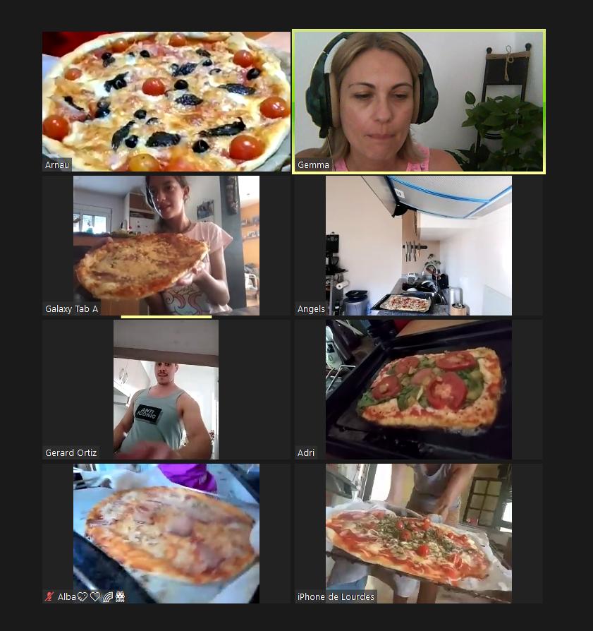 Taller de pizza saludable a l'Espai Infantil - Espai Infantil