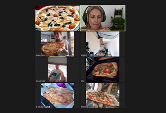 Taller de pizza saludable a l'Espai infantil