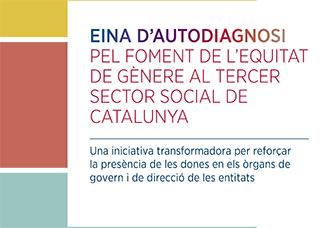 eina autodiagnosi pel foment de l'equitat de gènere al Tercer Sector Social de Catalunya