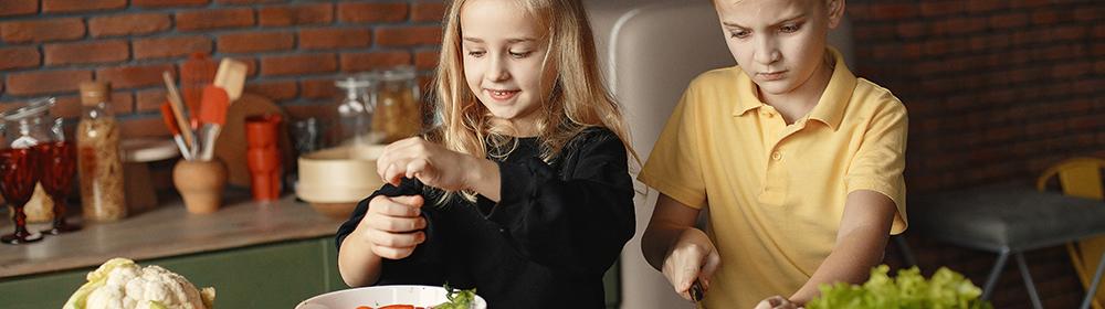 Taller infantil de cuina saludable