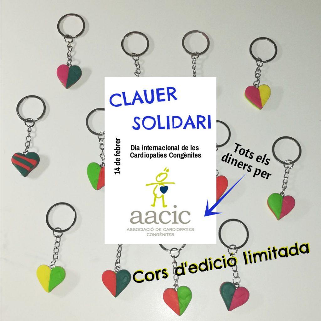 Llaveros solidarios, la iniciativa de Cristina para celebrar el Día Internacional de las Cardiopatías Congénitas