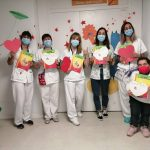 Celebramos la Diada de Sant Jordi en el Hospital Infantil y Hospital de la Mujer Vall d'Hebron