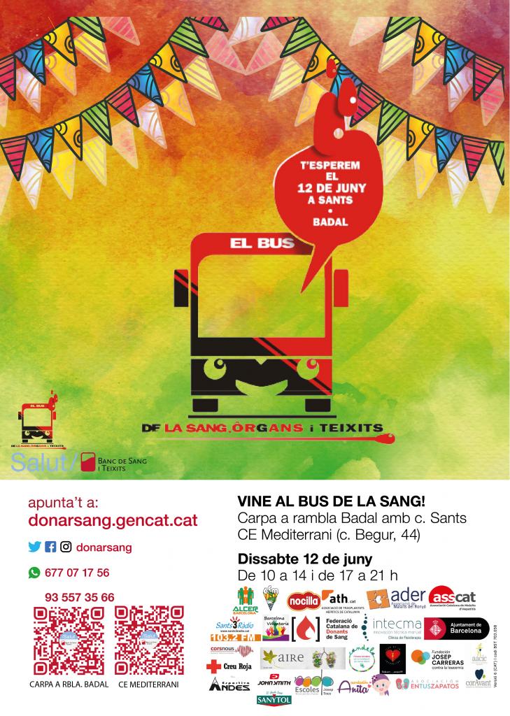 Jornada solidaria El Bus de la Sang