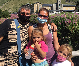 Ramon Presas i familia